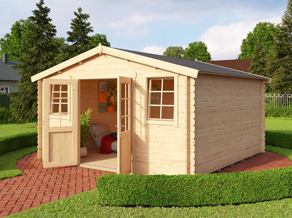 abri de jardin 15 m²