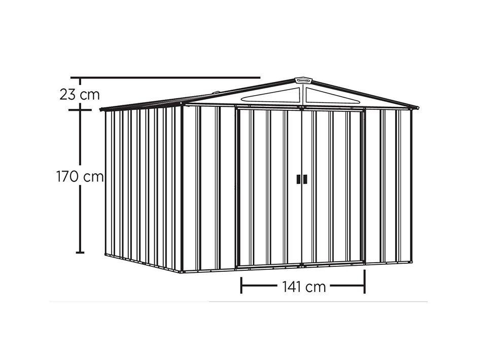 plan cabanon de jardin