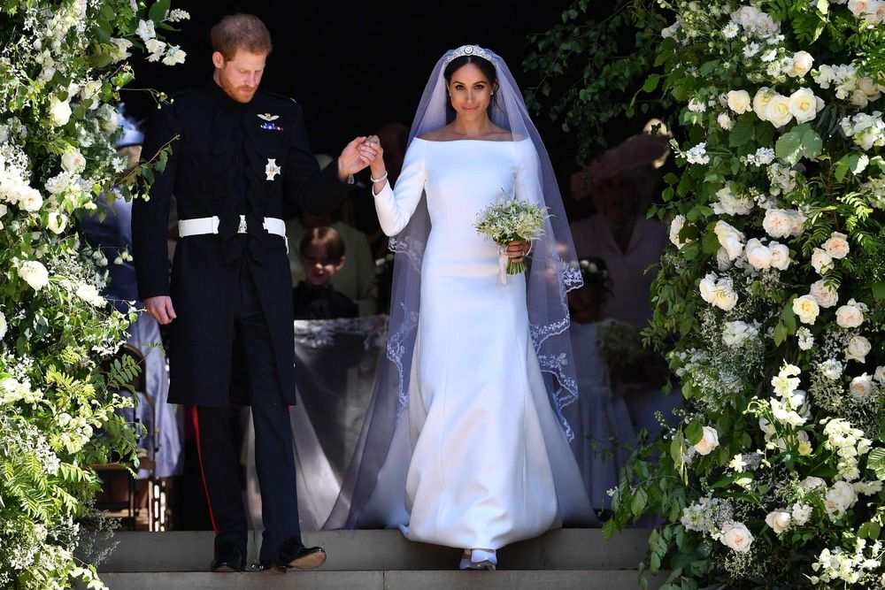 Ένας γάμος που τα είχε όλα: Λαμπρότητα, συγκίνηση και πολύ έρωτα