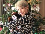 Σία Κοσιώνη: Το... παραμυθένιο Χριστουγεννιάτικο δέντρο της!