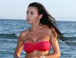 Όλγα Φαρμάκη: Δημοσίευσε την πρώτη φωτογραφία με φουσκωμένη κοιλίτσα