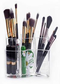 organizador de brochas para maquillaje
