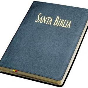 sagrada biblia edición de bolsillo