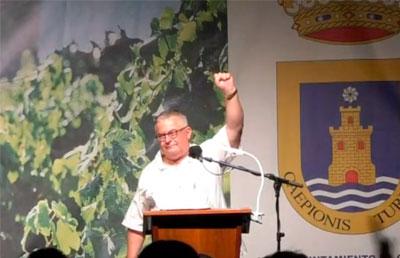 Un Pregón del Moscatel de Chipiona para la historia a cargo de Juan Mellado Poza