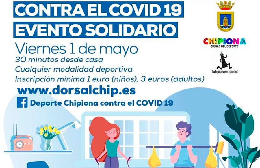 Deportistas de Chipiona contra el COVID19