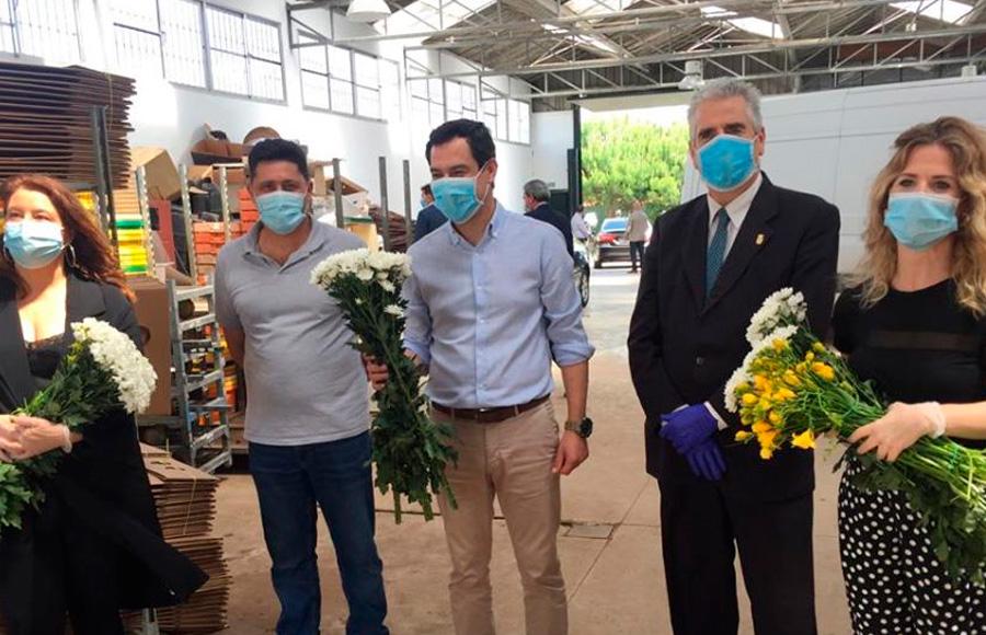 El Partido Popular de Chipiona agradece la visita de Juan Manuel Moreno