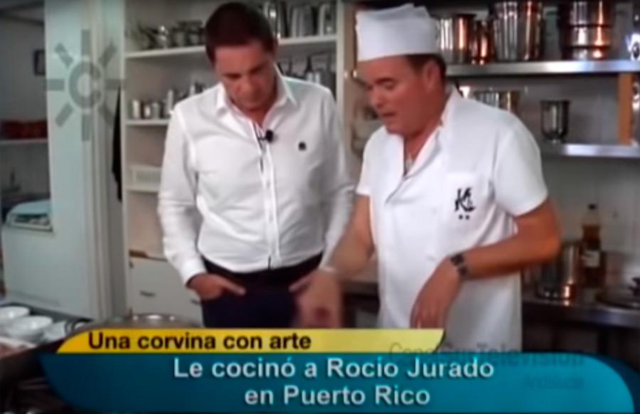 Receta de corvina de Chipiona con Victoriano Pizarro