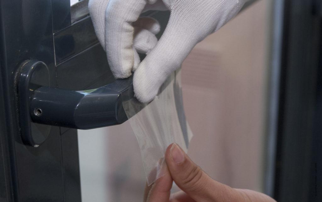 film antibacterien adhesif