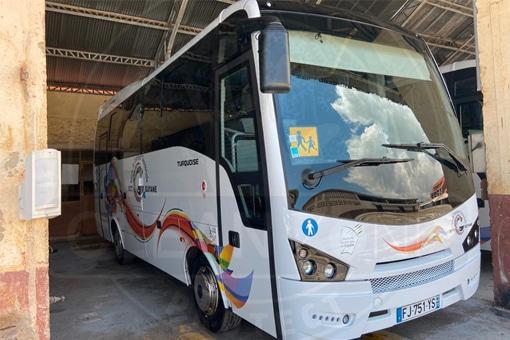 Film antimicrobien transport scolaire Guyane