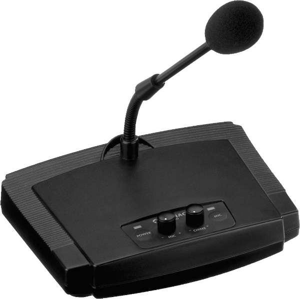 PLTELECOM Microfone chamada MONACOR