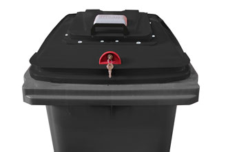 Lid in Lid with electronic lock