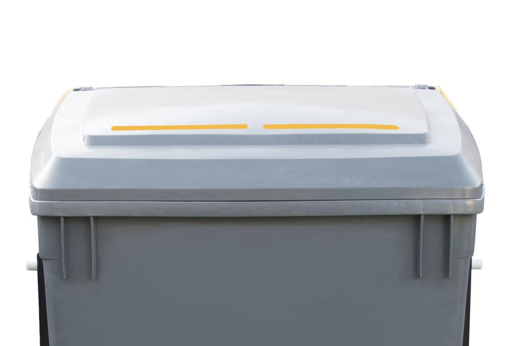 Waste identification strip