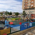 CONTENUR takes on supplying and installing several children's play areas in the city of Malaga