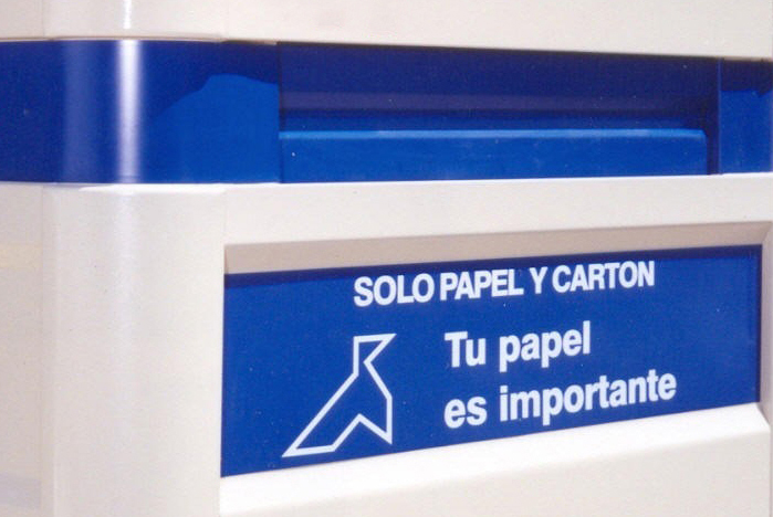 Cardboard and paper aperture