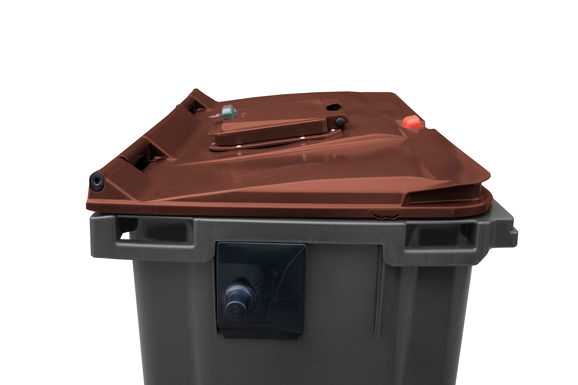 Lid in lid with manual lock