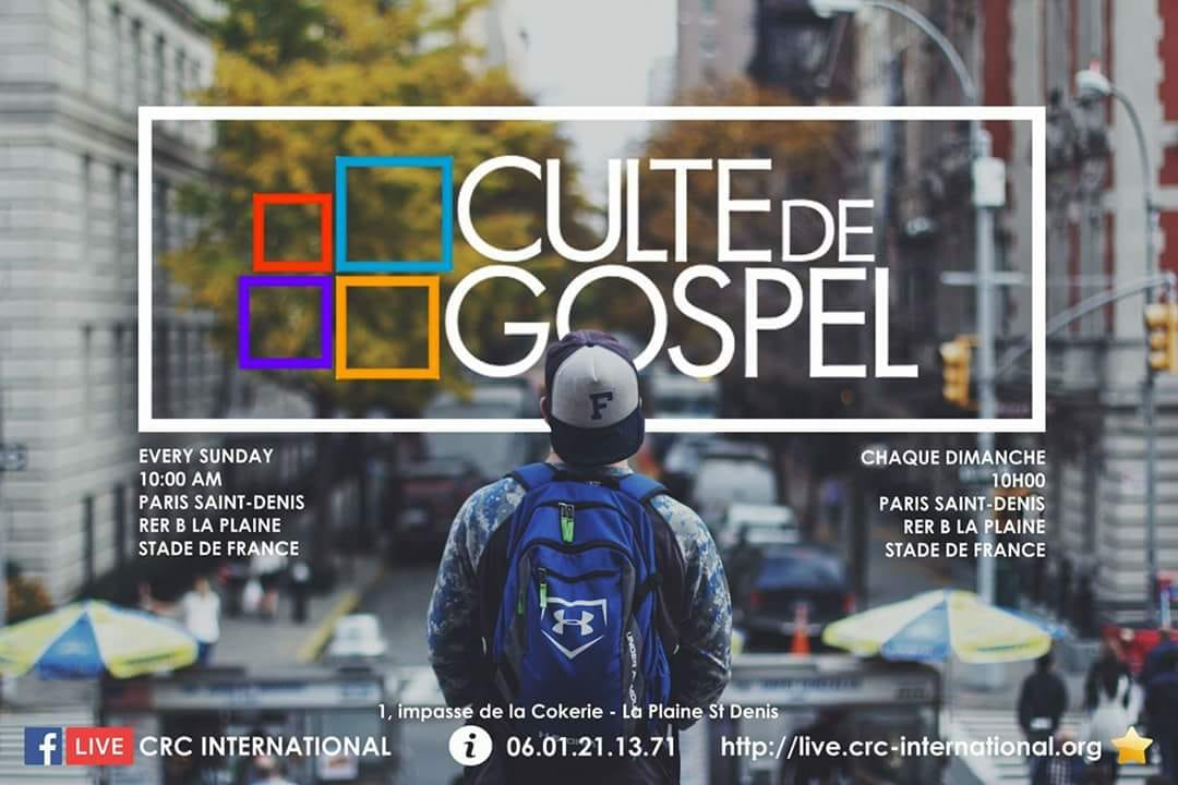 Paris service Gospel