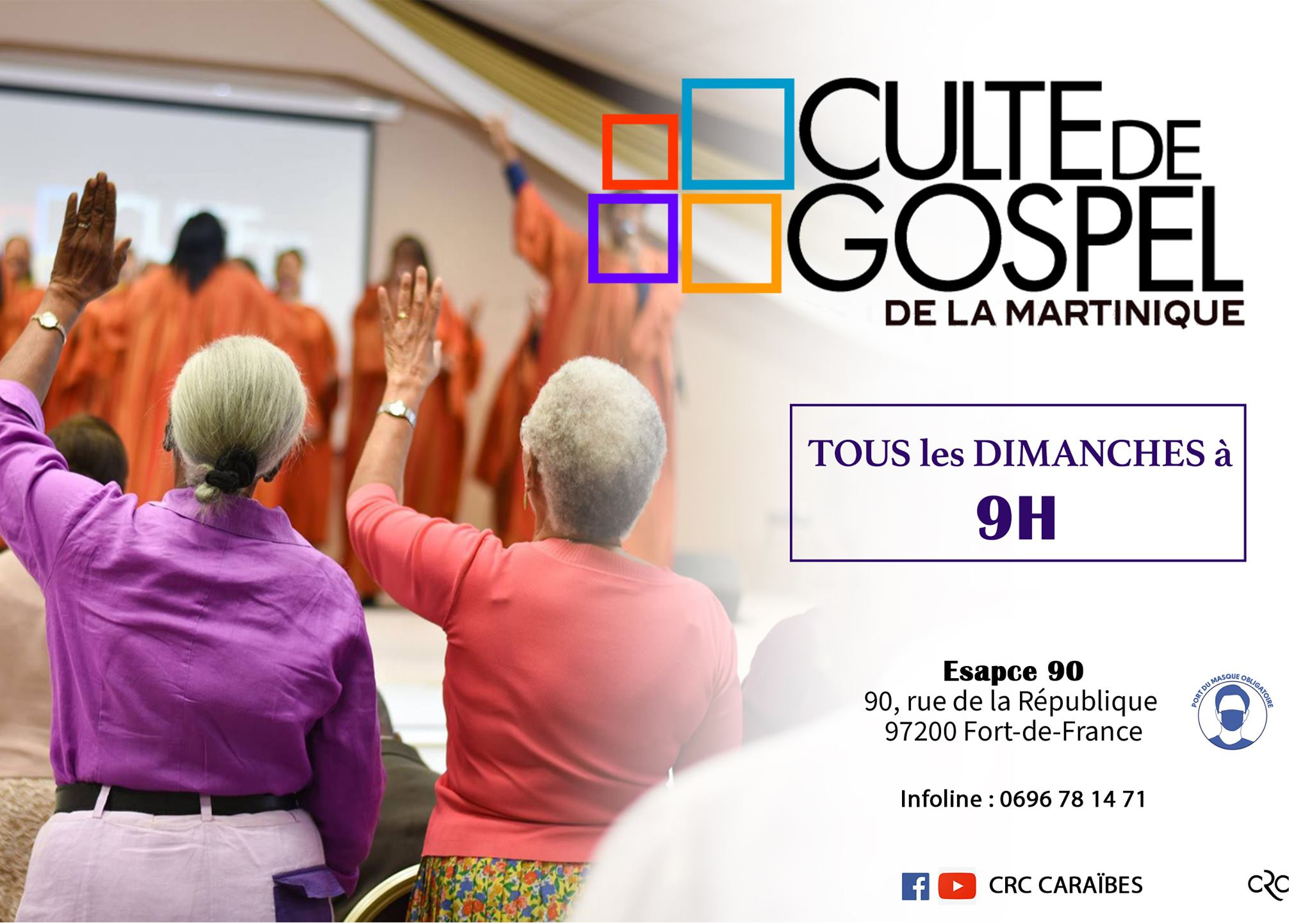 Culte de Gospel de la Martinique