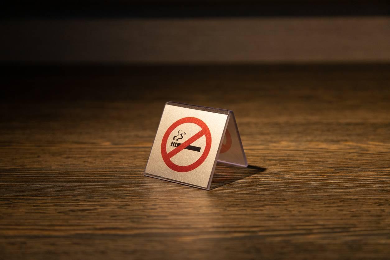 Signalétique interdiction de fumer