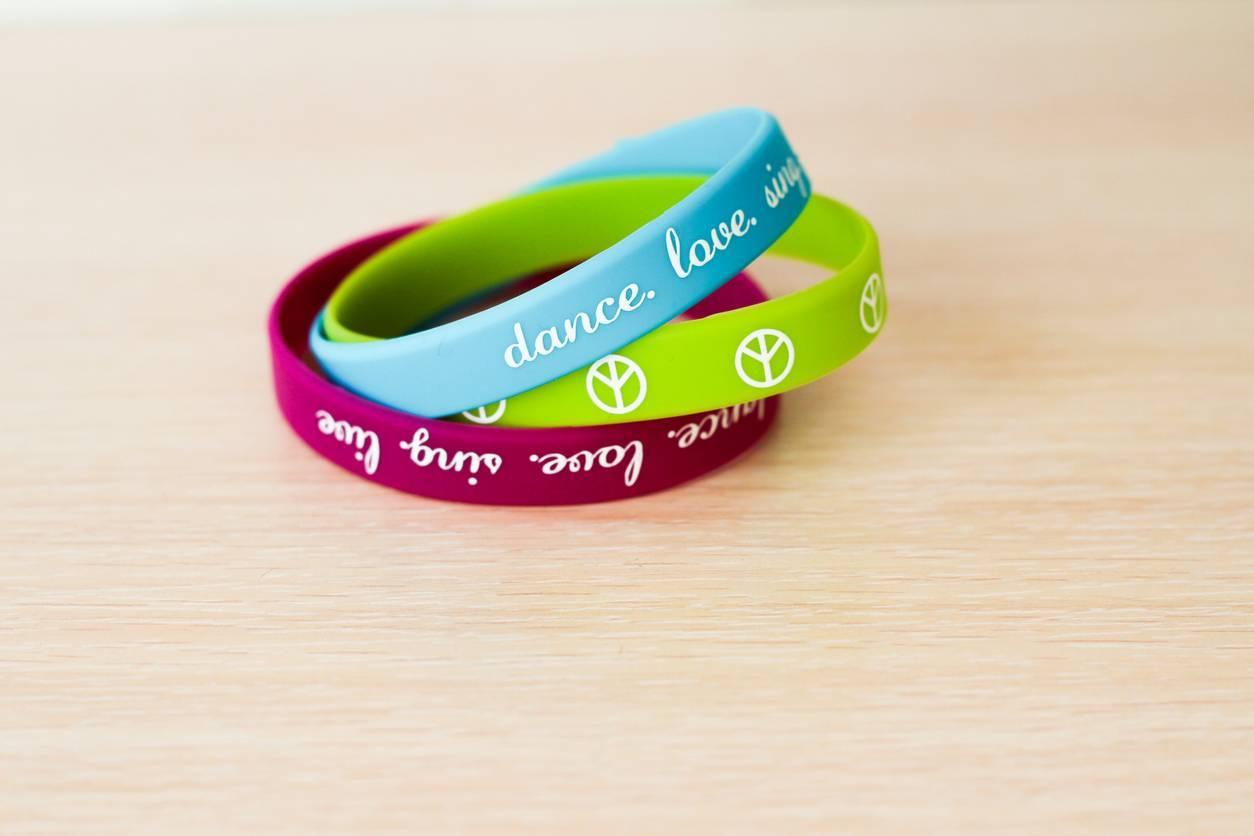 bracelets silicone objet publicitaire