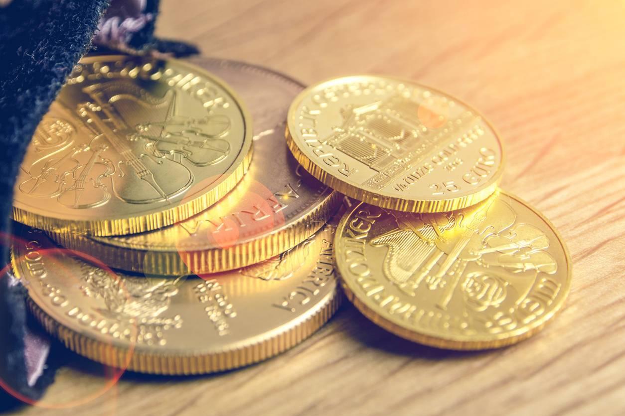 Les pièces d'or sont un bon investissement.