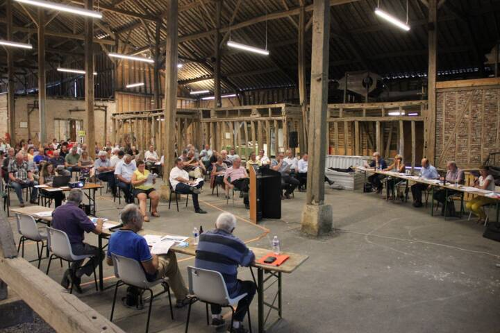 Conseil de Communauté de Communes des Crêtes Préardennaises - le 25 juin 2020 - relais de poste