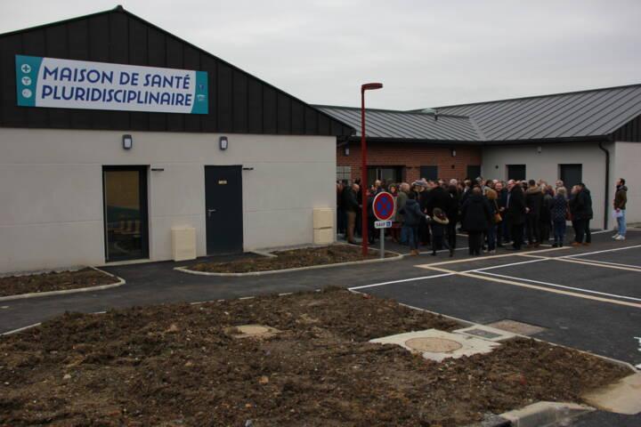 Inauguration Maison de santé Elisabeth Faille - Médecin - Signy l'Abbaye - Crêtes Préardennaises