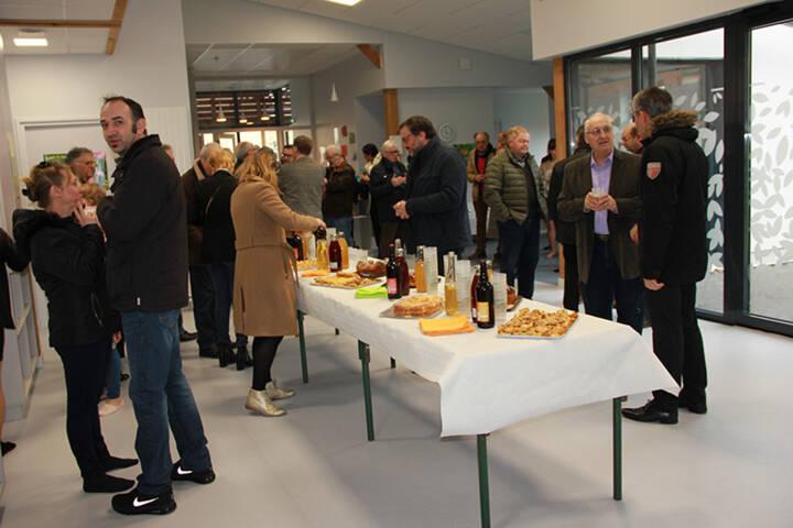 Inauguration creche - le bois enchanté - attigny - cretes preardennaises