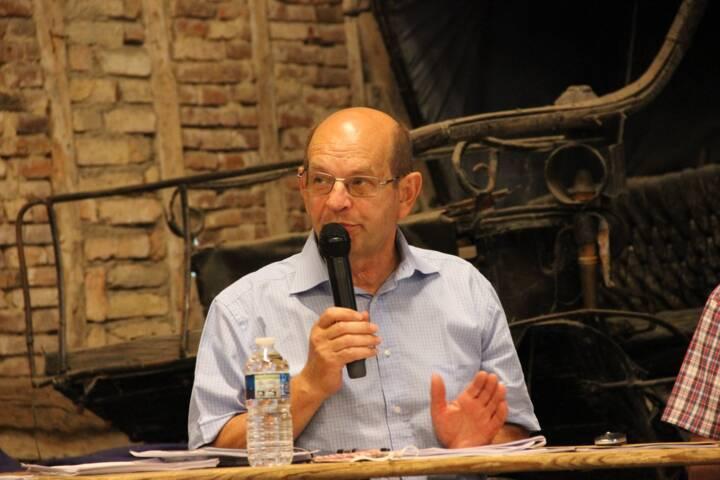 Le Président M. Blaimont - Conseil de Communauté de Communes des Crêtes Préardennaises - le 25 juin 2020