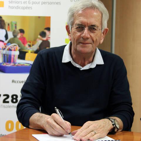 Maire de Signy l'Abbaye - Signature du CEJ - Cretes preardennaises