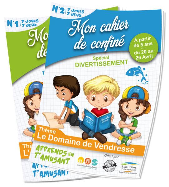 Cahiers du confiné - Crêtes Préardennaises