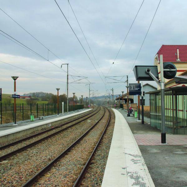 Gare de Poix-Terron