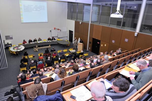 Le conseil de développement en réunion au CFA de Poix Terron