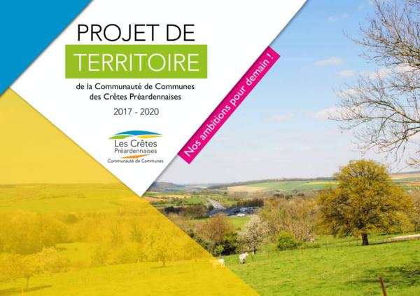 le projet de territoire, feuille de route jusqu'en 2021