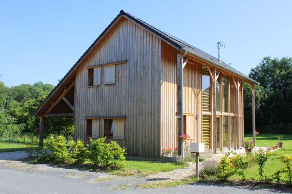 Maison bois basse consommation à Chaumont-Porcien
