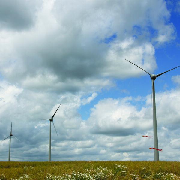 Éoliennes sur le territoire des Crêtes Préardennaises