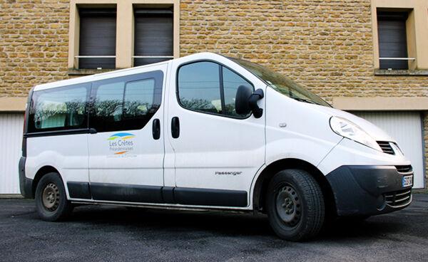 Minibus Communauté de Communes des Crêtes Préardennaises