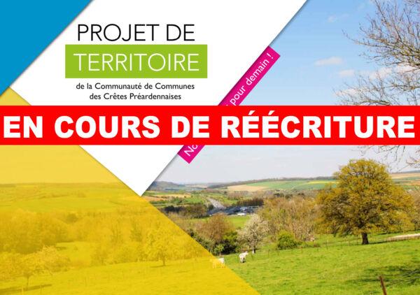 Projet de Territoire 2021-2026 - En cours de réécriture