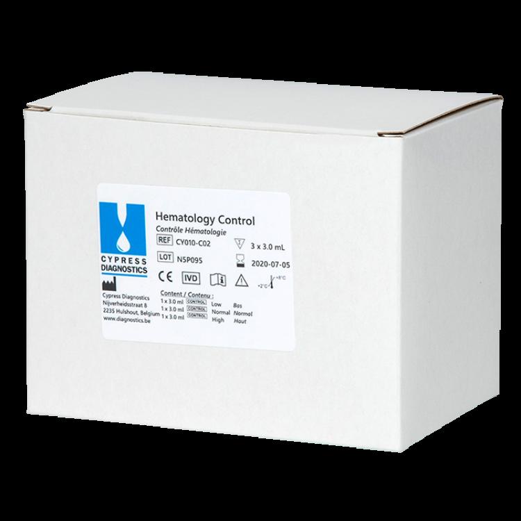 Hematology Controls L/N/H
