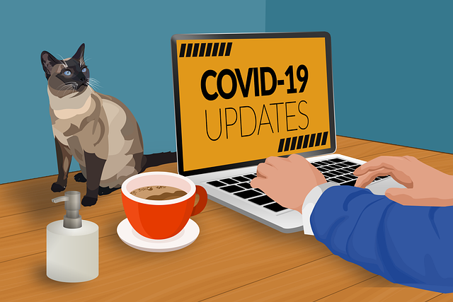 Spreading coronavirus taking people to remote work from home