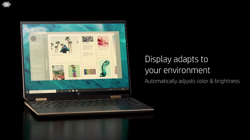HP Spectre x360 14 comes with Full HD IPS or OLED display.