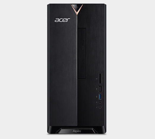 Acer Aspire TC-895 desktop comes with a keyboard and mouse.