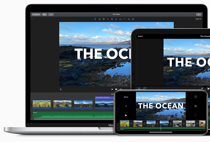 Apple iMovie is one of the best video editing software for Mac users.