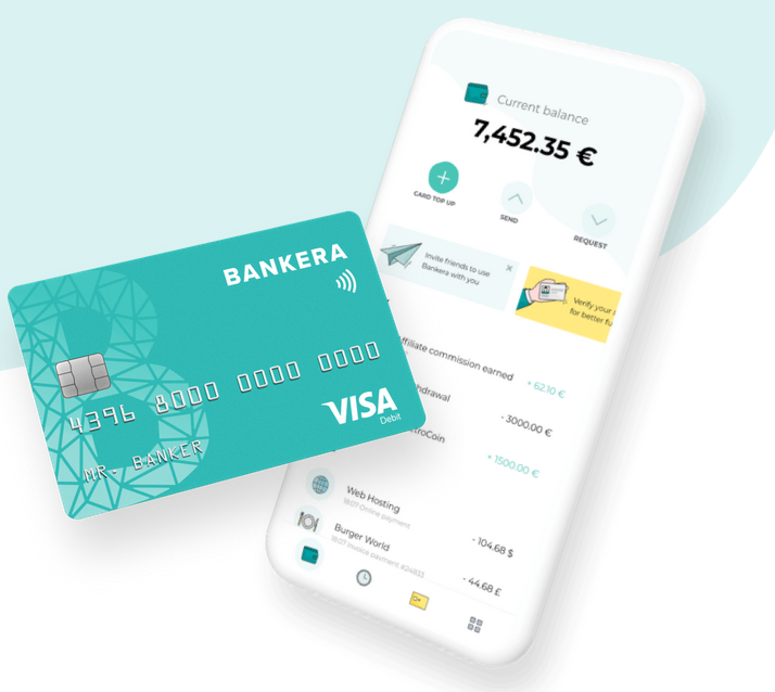 Bankera aims to becoming an online bank where different cryptocurrencies can be exchanged seamlessly.
