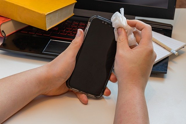 How to disinfect your phone