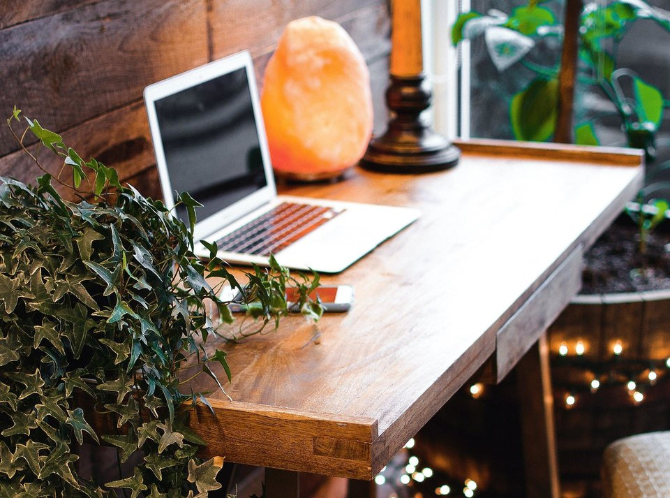 Dedicate a workspace when you work from home