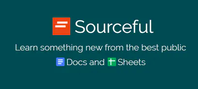 Sourceful search engine