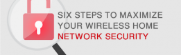 Six steps to maximize your wireless home network security