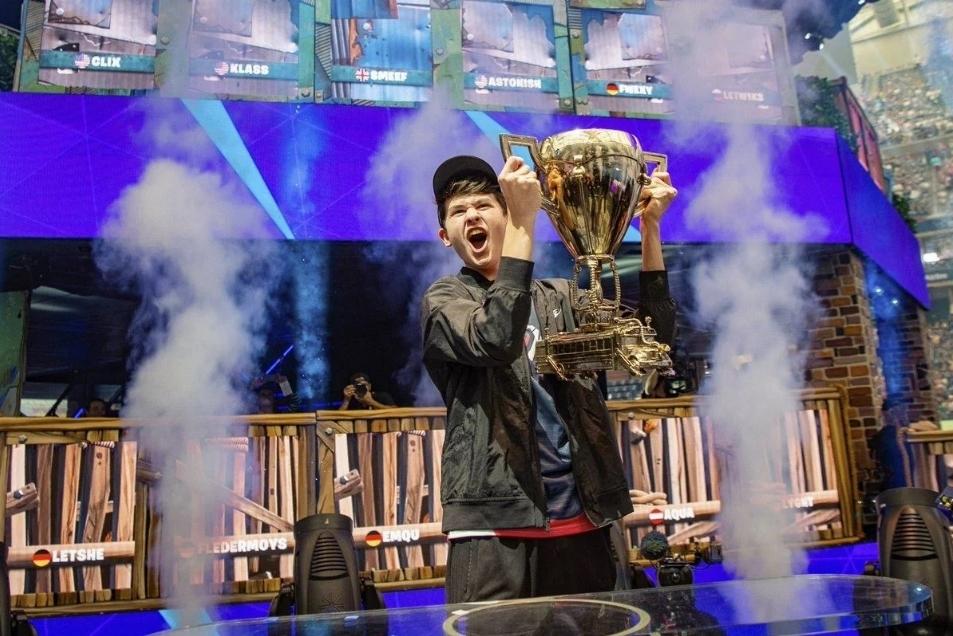 Bugha campeón del mundo de Fortnite
