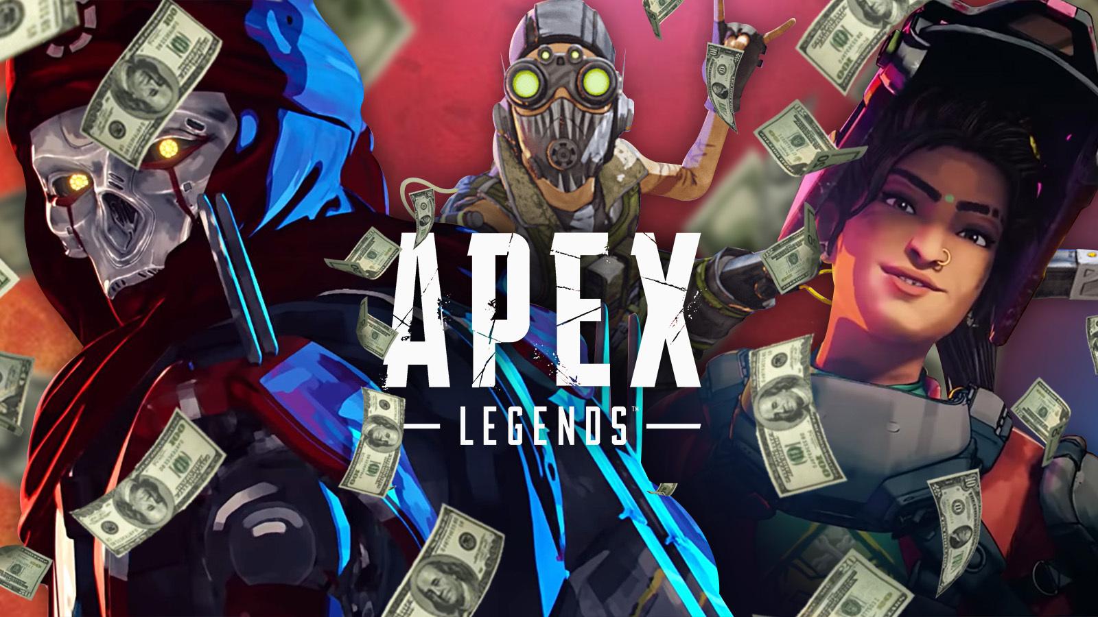 Top 20 ganancias Apex Legends
