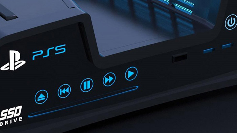 Una imagen de la supuesta PlayStation 5
